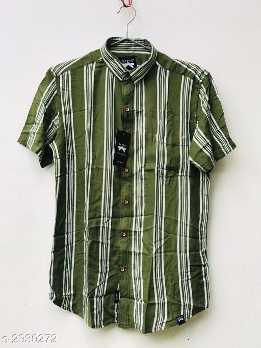 Classy Attractive Rayon Men's Shirts*