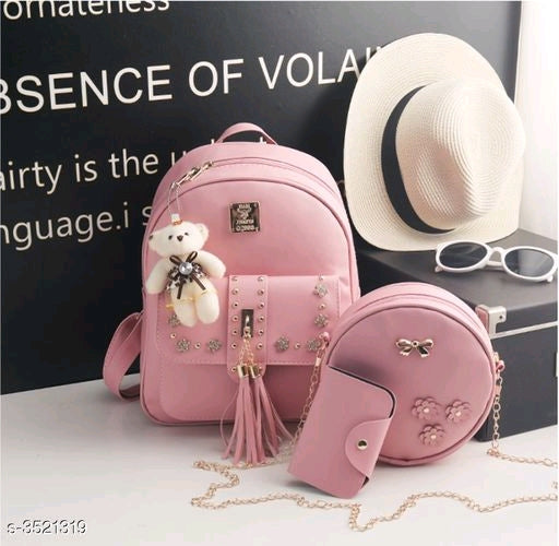 Trendy Stylish Women's Backpacks Combo Vol 2