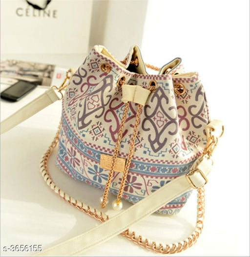 Stylish Women's PU Sling Bag