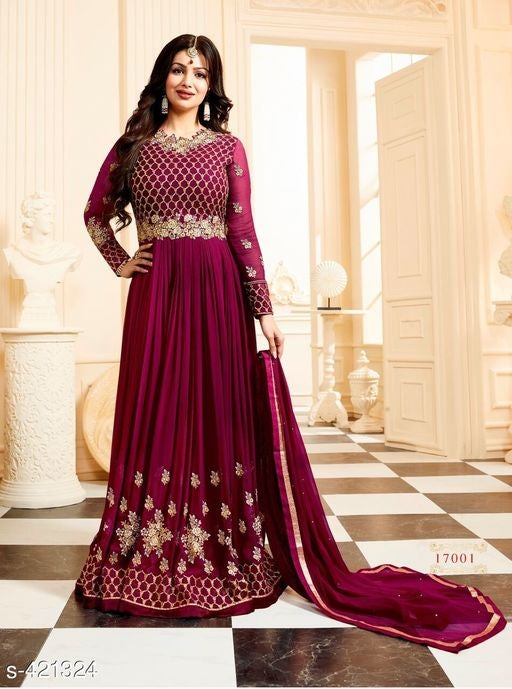 Drashti Embroidered Anarkali Salwar Suits & Dress Materials Vol 2#