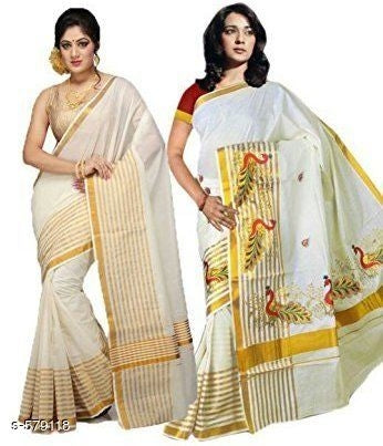 Ethnic Cotton Sarees