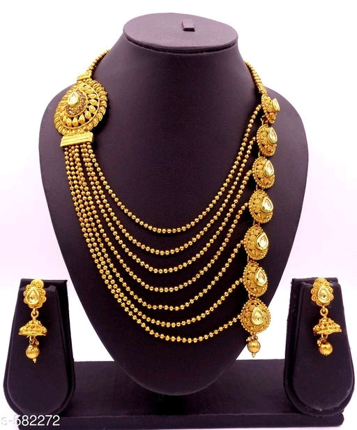Feminine Beautiful Gold Plated Jewellery