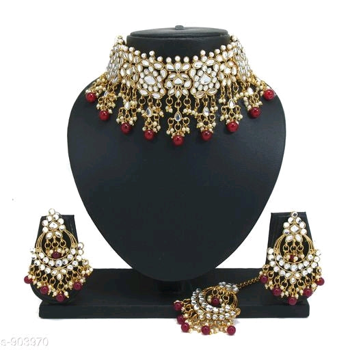 Ladies Versatile Women's Metal Bridal Jewellery Sets