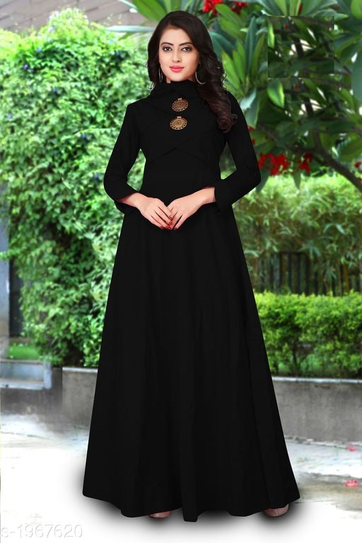 Alice Trendy Cotton Slub Solid Women's Gowns Vol 1