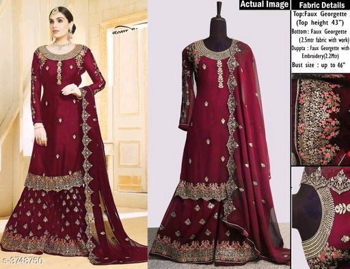 Attractive Trendy Georgette Suits & Dress Materials Vol 20