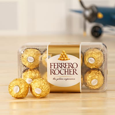 Box of Yummy Ferrero Rocher Chocolate 16 pcs