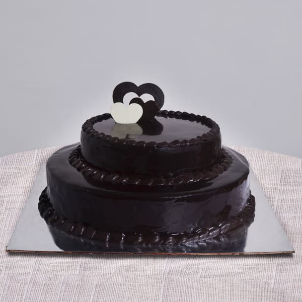 Two Tier Chocolate Cake (3 Kg)