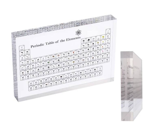 Elemental Showcase Lite Edition PERIODIC TABLE DISPLAY WITH ELEMENTS