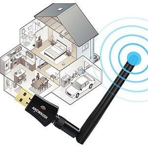 600Mbps Dual Band Usb Wifi