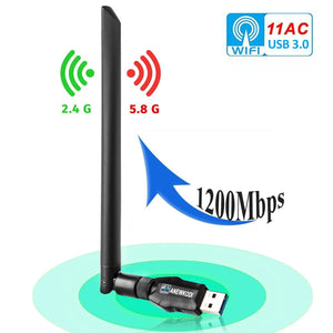 X-1200Mbps USB WiFi Adapter