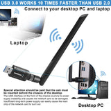 S-1200Mbps USB WiFi Adapter
