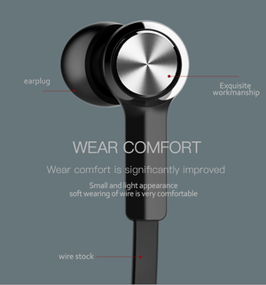 Bluetooth Earphone Wireless headphone-Anewkodi-BLACK-Anewkodi