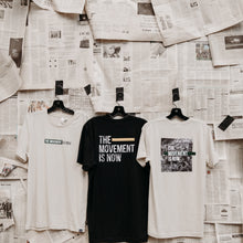 Movement is Now Tee in Black