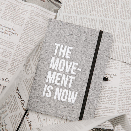 Movement Is Now Journal Grey