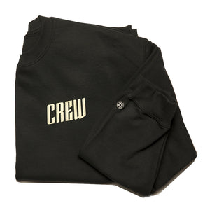 Men's Crew Sweatshirt in Black
