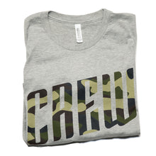Men's Crew Tee in Heather Grey
