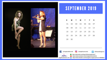 Load image into Gallery viewer, Angelica Calendar - 12 Month Format - 2019 - angelicasmusic-com