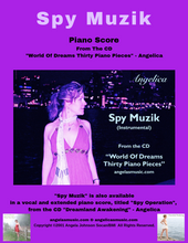 Load image into Gallery viewer, Angelica Sheet Music (Piano Score) - Spy Muzik - angelicasmusic-com