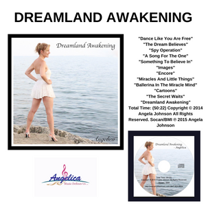 "Angelica Leggings - ""Dance Like You Are Free"" + Digital Album Download - ""Dreamland Awakening"""