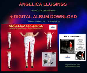 "Angelica Leggings - ""World Of Dimensions"" + Digital Album Download - ""Magic's Mystery"""