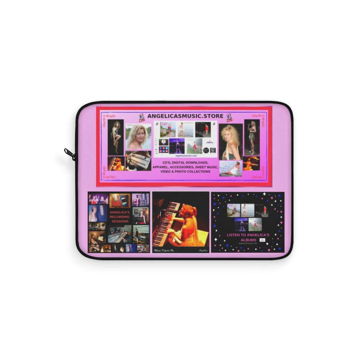 Angelica Laptop Sleeve - angelicasmusic-com