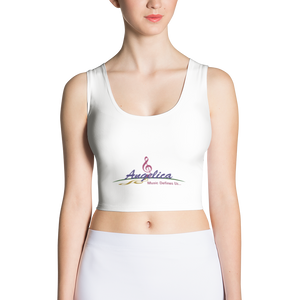 Angelica Crop Top - Featuring Logo & CD's (Shirt) - angelicasmusic-com