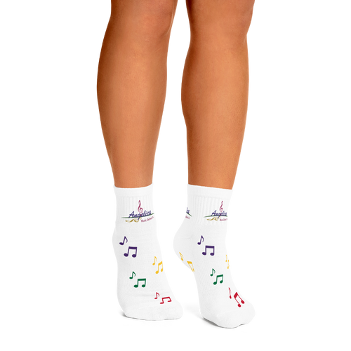 Angelica Socks With Music Notes - angelicasmusic-com
