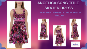Angelica Dress - Skater Design - Featuring Song Title - angelicasmusic-com