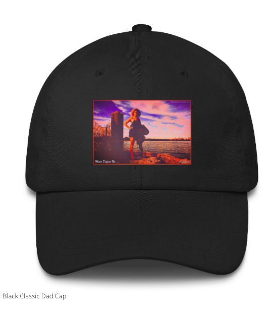 Angelica Cap - Featuring Angelica In Cartoon & Quote -