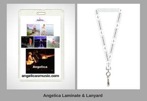 Angelica Laminate & Lanyard - angelicasmusic-com