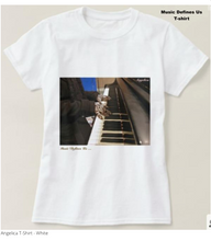 Load image into Gallery viewer, Angelica T-Shirt - Featuring Piano Keys - angelicasmusic-com