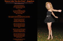 "Load image into Gallery viewer, Angelica Leggings - ""Dance Like You Are Free"" + Digital Album Download - ""Dreamland Awakening"""