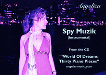 Load image into Gallery viewer, Spy Muzik (Instrumental) - Angelica - angelicasmusic-com
