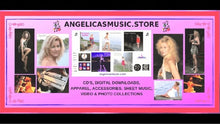 Load image into Gallery viewer, Angelica Sticker - Logo, CD's & Concert Design