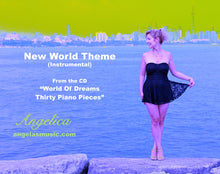 Load image into Gallery viewer, New World Theme (Instrumental) - Angelica - angelicasmusic-com