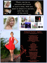 Load image into Gallery viewer, Angelica Autographed Poster - A Song For The One - angelicasmusic-com