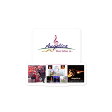Load image into Gallery viewer, Angelica Sticker - Logo, CD's & Concert Design - angelicasmusic-com