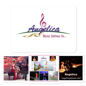 Angelica Sticker - Logo, CD's & Concert Design - angelicasmusic-com