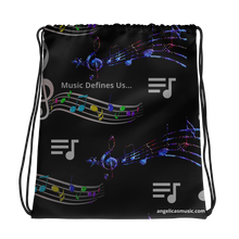 Load image into Gallery viewer, Angelica Drawstring Bag - angelicasmusic-com