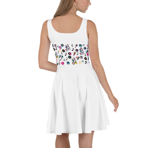 Angelica Dress - Skater Design Featuring Angelica & Music Notes - angelicasmusic-com