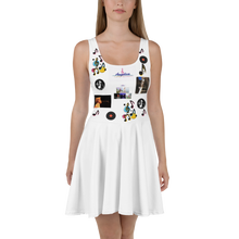 Load image into Gallery viewer, Angelica Dress - Skater Design Featuring Angelica & Music Notes - angelicasmusic-com