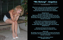 Load image into Gallery viewer, We Belong - Angelica - angelicasmusic-com