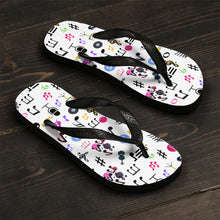 Load image into Gallery viewer, Angelica Music Unisex Flip-Flops - angelicasmusic-com