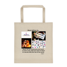 Load image into Gallery viewer, Angelica Tote Bag - Cotton Canvas, Featuring Angelica - angelicasmusic-com