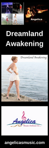 Angelica Bookmark - Featuring CD Artwork - Dreamland Awakening - angelicasmusic-com