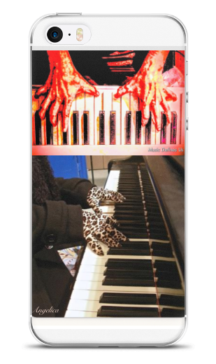 Angelica Crazy Fingers Cell Phone Case - angelicasmusic-com