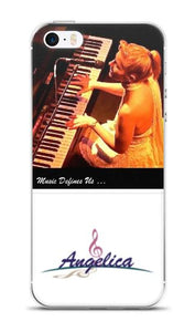 Angelica Cell Phone Case (Music Defines Us) - angelicasmusic-com