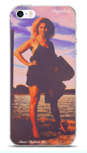 Angelica Photo (Music Defines Us) - Cell Phone Case - angelicasmusic-com