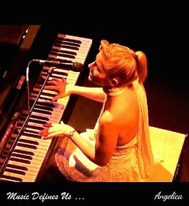Angelica Poster - Featuring Angelica Performing & Quote - angelicasmusic-com