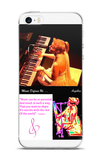 Angelica Quote & Photos - Cell Phone Case - angelicasmusic-com